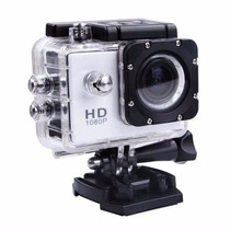 Mini Câmera Filmadora Sports Hd 1080p Aprov D'agua Moto Bike