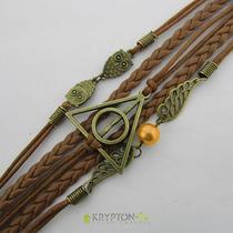 Bracelete Harry Potter (17cm) Relíquias Da Morte - Modelo 01