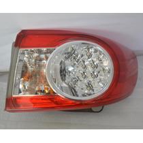 Lanterna Toyota Corolla 2011 A 2014 Com Led Lado Direito