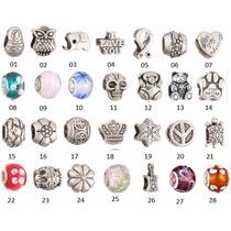 Berloques De Prata -pulseiras Pandora & Vivara