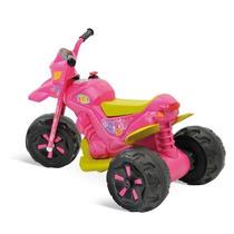 Mini Moto Elétrica Bandeirantes Xt3 Rosa Pronta Entrega