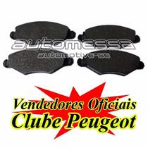 Pastilha De Freio Dianteira Peugeot 206 / 207 Jogo Completo