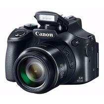 Camera Canon Sx60hs Powershot Wifi Full Hd 65x Nova A7074