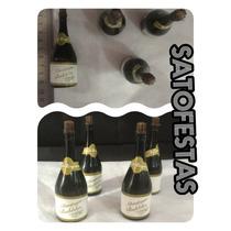 Lembrancinha Casamento Bolha De Sabão Champagne Cx 24