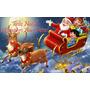 Natal Papai Noel Adesivo Decoração Vitrine Parede 07