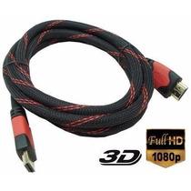 Cabo Hdmi 1.4 02 Metros Full Hd 3d Ps3, Xbox Tv Menor Preço