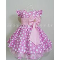 Vestido Da Minnie 1 Ano