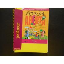 Livro Porta Aberta Língua Portuguesa 1º Ano (para Professor)