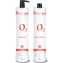 Progressiva Sem Formol Orange Selante Térmico (2x90ml)