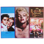 3 Placas Marilyn Monroe - Elvis Presley - Retro