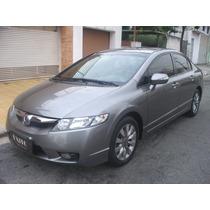 Honda Civic Sedan Lxl Se 1.8 Flex Automatico Cinza 2011