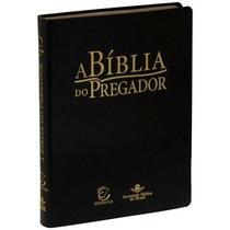 A Bíblia Do Pregador Bíblia Sagrada Evangélica Sbb Ra Preta