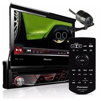 Dvd Player Carro Automotivo Pioneer Avh-3880dvd Retrátil Usb