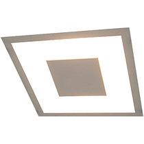 Lustre Embutido Quadrado Iluminação Decorativa Luz Indireta