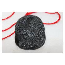 Feng Shui, Amuleto Pingente Oriental,pedra Obsidiana Natural