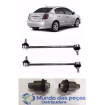 Kit 2 Bieletas 2 Buchas Agregado Traseiro Sentra 2007-2013