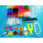 Kit Fabrica Tear Maleta Pocket 1000 Elasticos 10 Pingentes