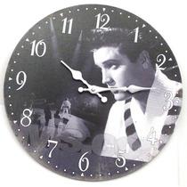 Relógio De Parede Estilo Rústico Vintage Retrô Diversos Tema