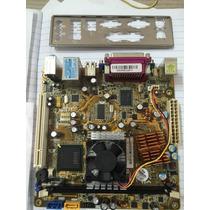Placa Mae Pegatron Ipxlp-mb Dc Com Espelho Cd Manual