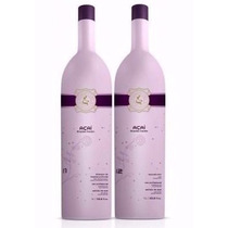 Kit Escova Progressiva Eternity Liss Açai 2x1000ml + Brinde