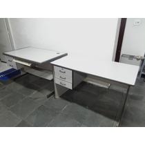 Mesa Para Escritório (2 Peças) Usada
