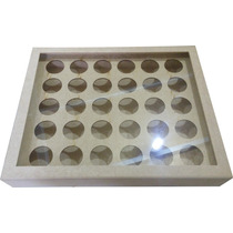 Porta Capsulas De Café Grande Com Vidro Mdf - Dolce Gusto