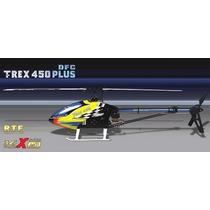 Align T-rex 450 3gx Dfc + Radio + Bateria + Carregador = Rtf