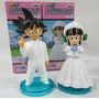 Kit Com 2 Bonecos Dragon Ball Figures Goku Casamento Wedding