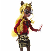 Boneca Monster High Mattel Clawdia Wolf Lacrada Com Nf