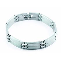 Pulseira/corrente/bracelete/algema Masculina Aço Giancarlo