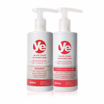 Ye Silver Color Kit Shampoo + Máscara Cond - Matizador 300ml
