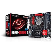 Placa Mãe Gamer 4k Lga 1150 Intel Gigabyte Ga-h97m Gaming 3