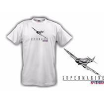 Camiseta Aeromodelismo Supermarine Spitfire - Hobbie Brasil