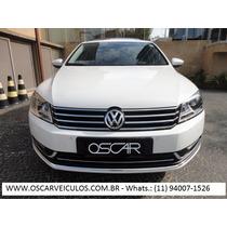 Volkswagen Passat 2.0t - 2014 - Teto + Gps + Start Stop !!!