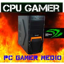 Cpu Computador Barato Gamer Core2 Duo 4gb 320gb Sata+g-force