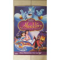 Poster Cartaz Aladdin Disney Original Desenho 1992