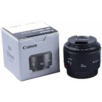 Lente Objetiva Canon Ef 50mm F/ 1.8 Li T3i T4i 60d 7d 5d Top