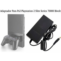 Fonte Bivolt Playstation 2 Slim Series 70000 8.5v C/ Cabo
