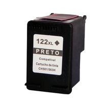 Cartucho Compatível Para Hp 122xl Black - Hp 2050 3050 1000