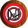 Quadro Decorativo Cerveja Duff Simpson O Melhor Do Mercado