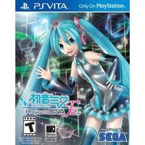 Jogo Novo Hatsune Miku Project Diva F 2nd Para Ps Vita