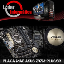 Kit Placa Asus Z97m-plus+ I5 4690k +16gb Hyperx Kingston!