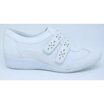 Sapato Feminino Linha Hospitalar - Branco - Confort
