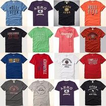 Camiseta Masculina Holister Abercrombie Aeropostale Original