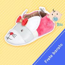 Sapato Infantil Bebê Conforto Menina Enxoval Feminino Menina