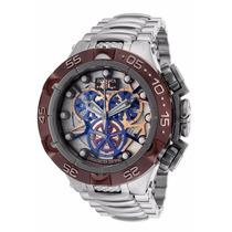Relógio Invicta 13739 Subaqua Noma Skeleton Frete Gratis