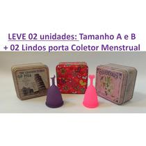 Coletor Copo Menstrual Ecológico Pronta Entrega Hipoalergico