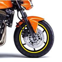 Friso Adesivo Refletivo Para Roda Amarelo