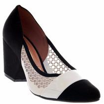 Sapato Vizzano Nylon Feminino Confortável Lindo Leve 1197105