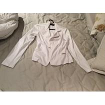 Blazer Feminino Branco Denuncia Jeans